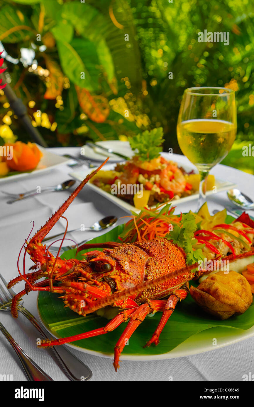 Lobster, Fiji - Stock Image
