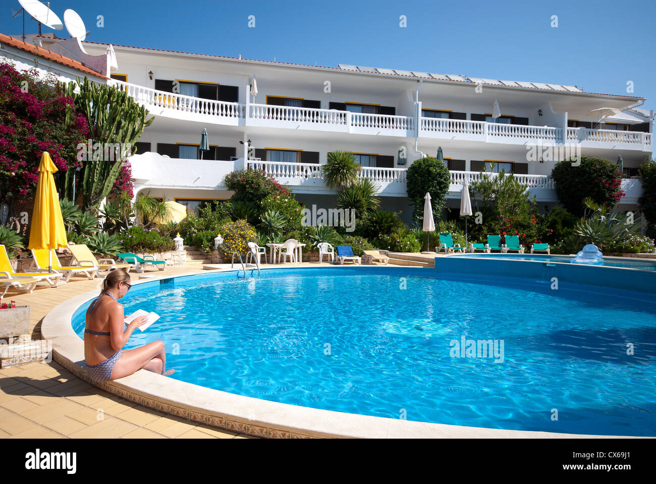 Along a pool stock photos along a pool stock images alamy for Ramsey swimming pool isle of man