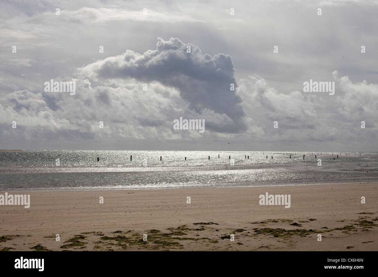 Dundrum Bay, County Down, Northern Ireland - Stock Image