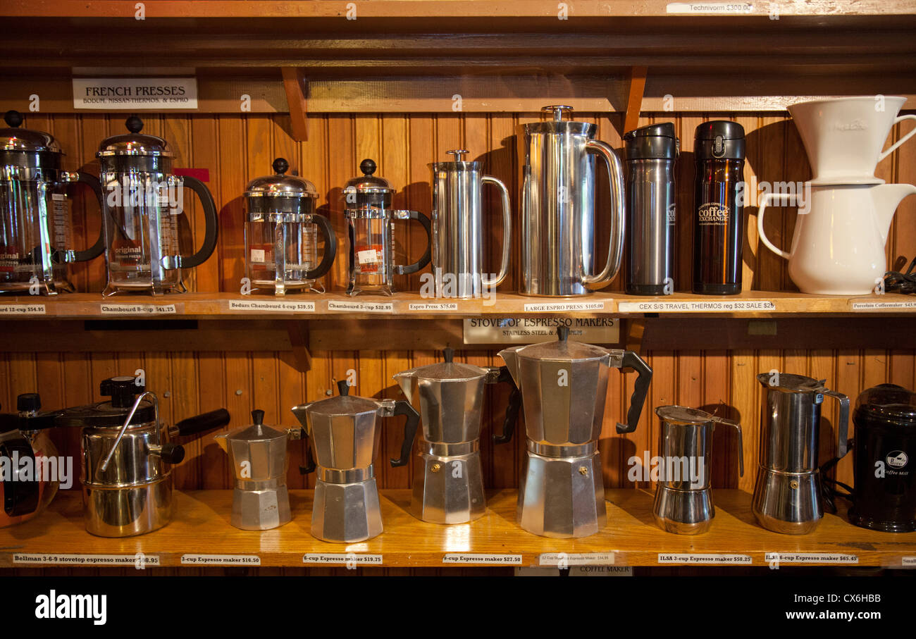 Coffee Exchange In Providence Rhode Island Stock Photo