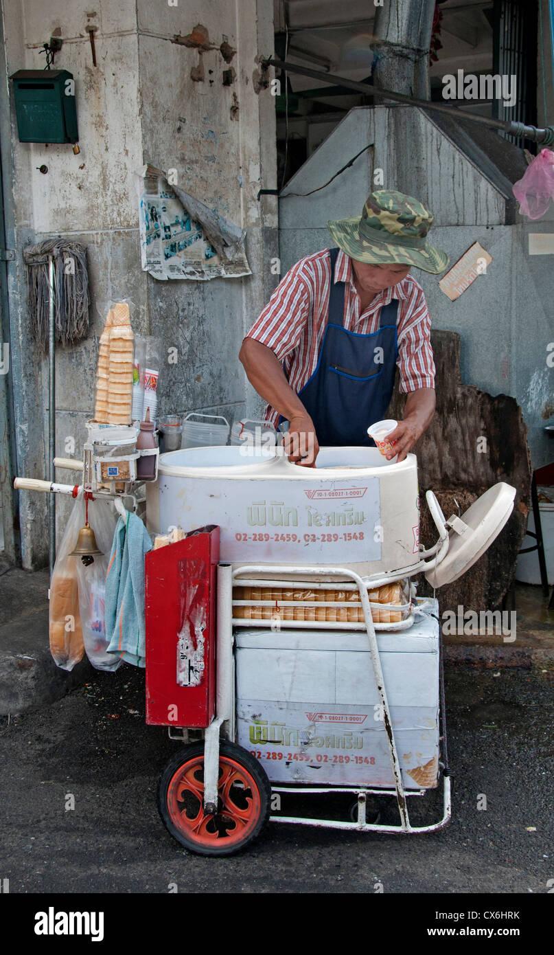Bangkok Thailand Thai Ice Cream Parlor Stock Photo