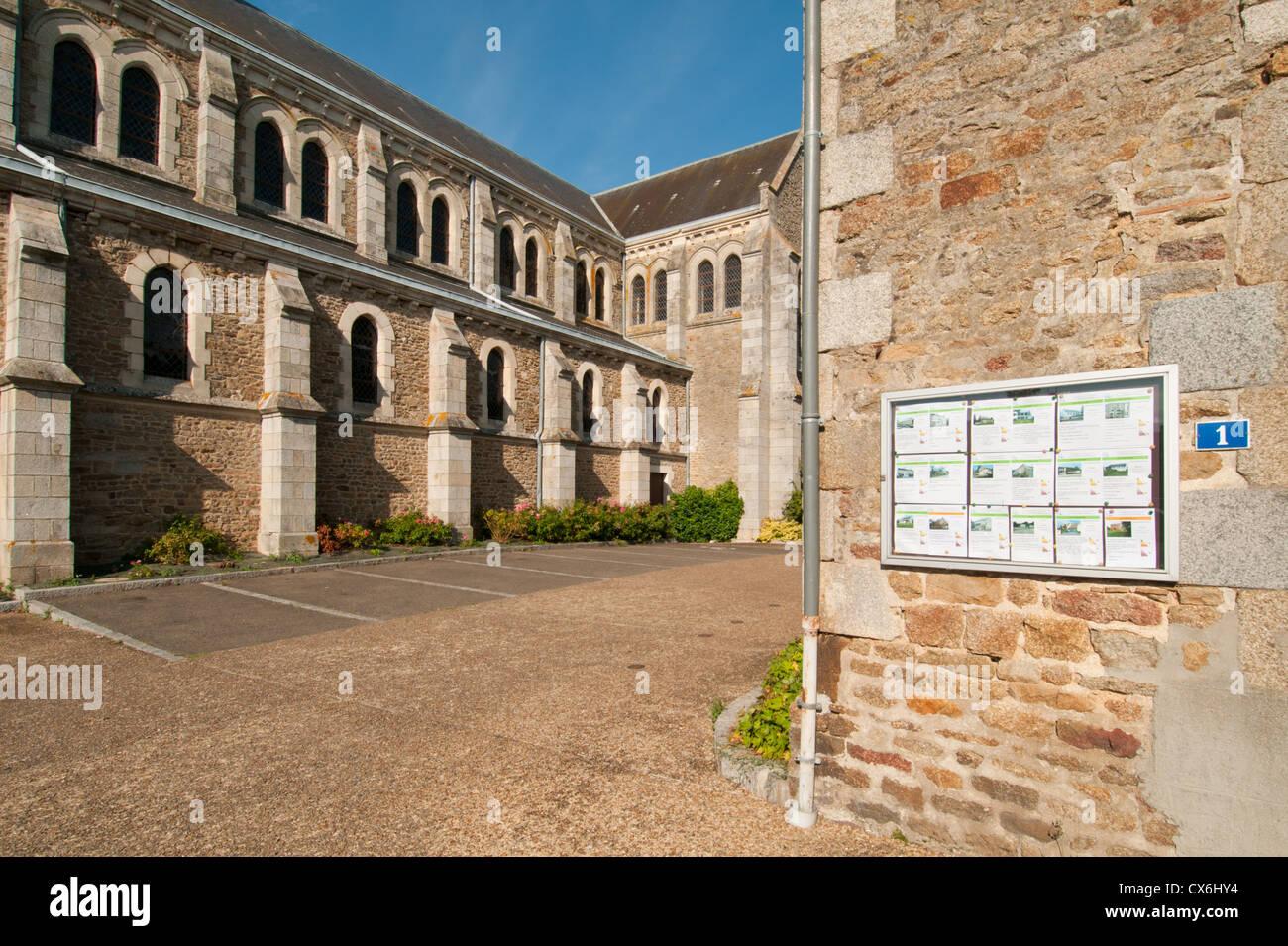 Saint-Pierre-des-Nids, Mayene, Pays de la Loire, France. - Stock Image