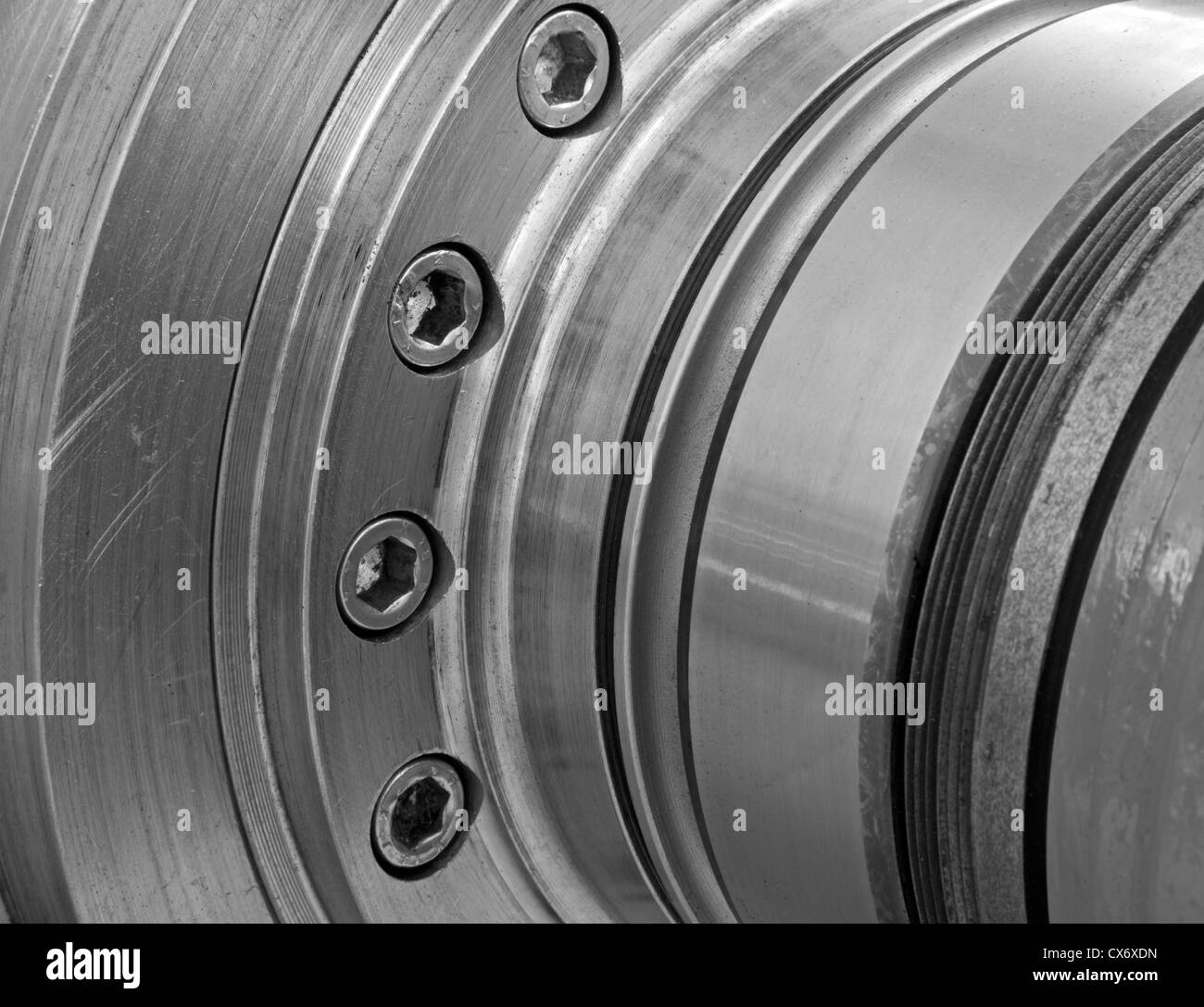 detail of decanter - winch - Stock Image