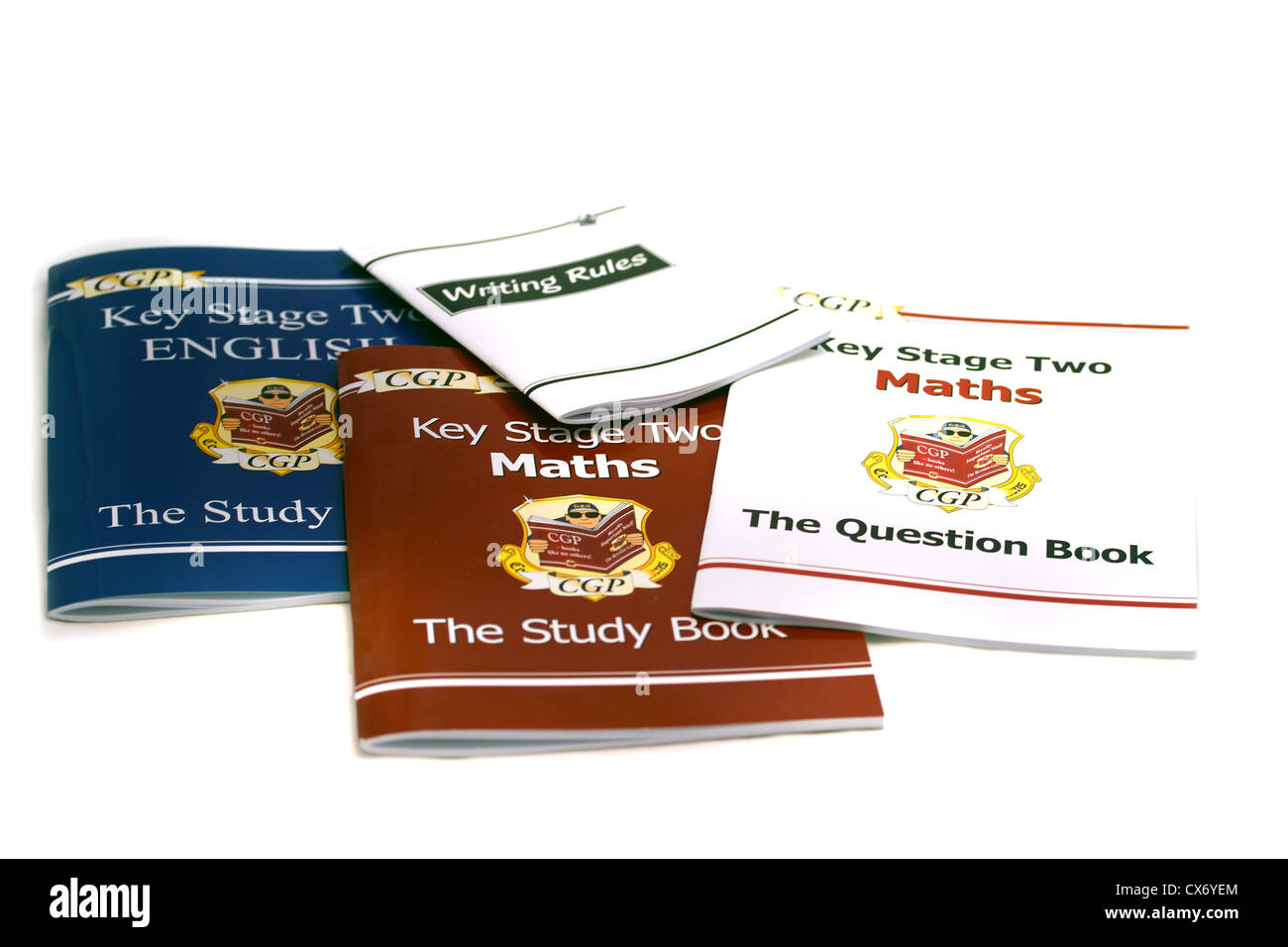CGP Key Stage Two English \'The Study Book\', CGP Key Stage Two \'Maths ...