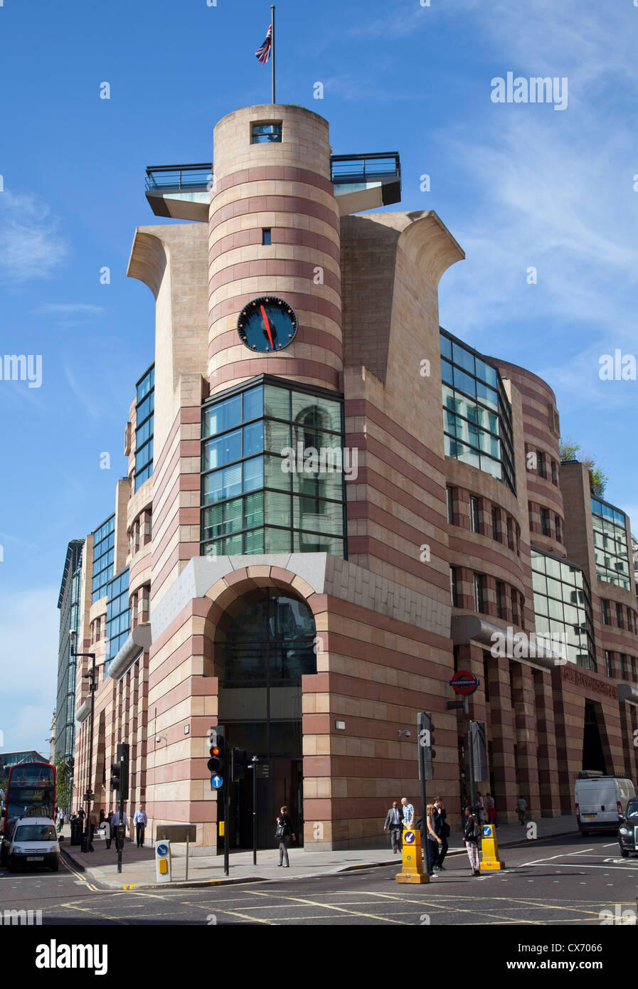 No. 1 Poultry, London - Stock Image