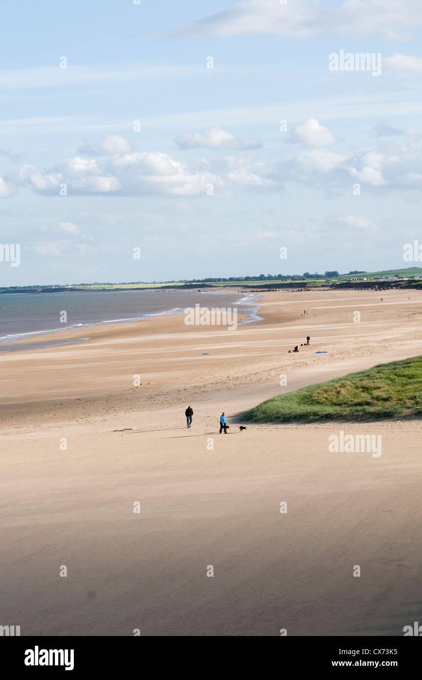 Beach Launching North East England