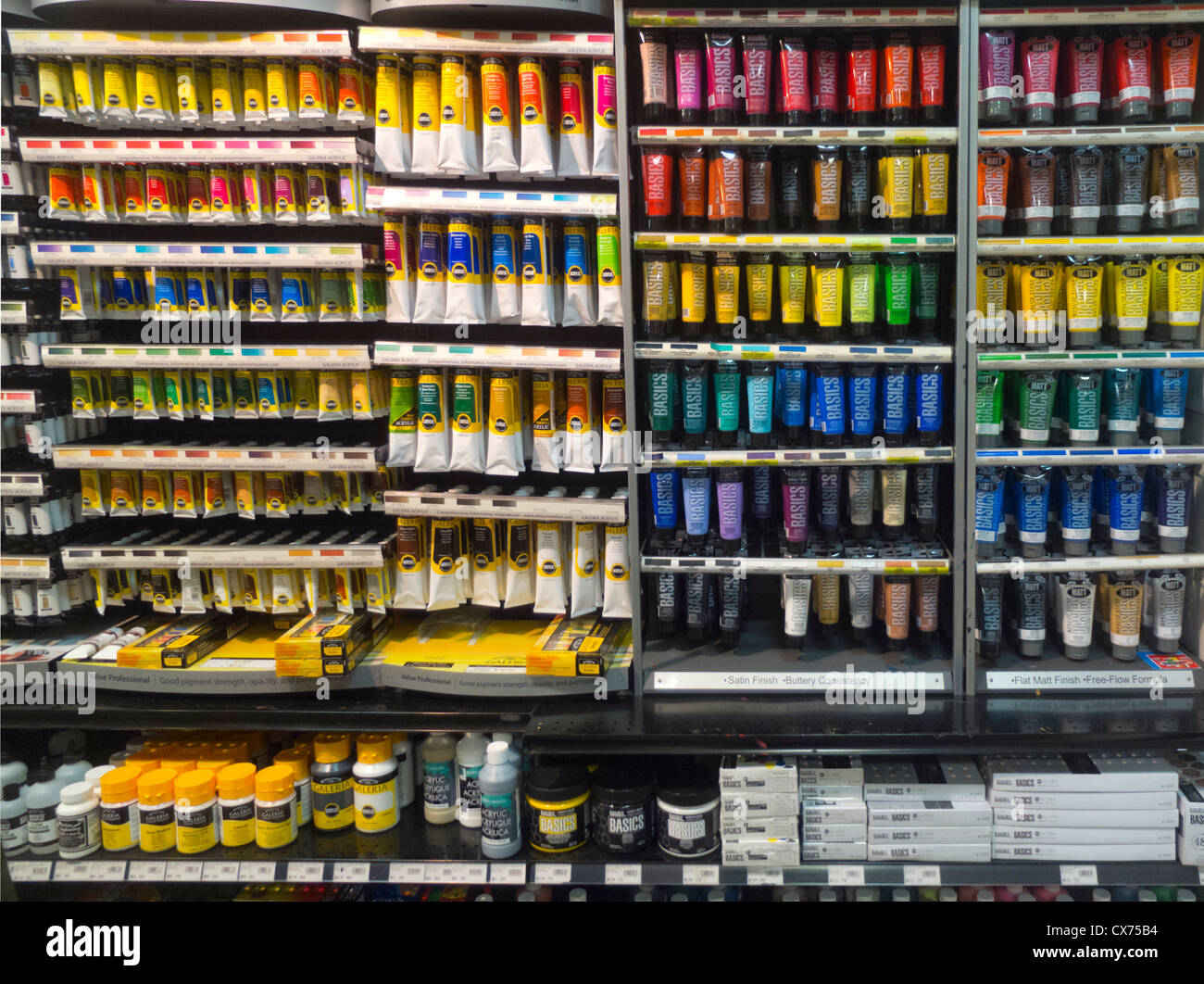 Art Supplies Store Stock Photos & Art Supplies Store Stock Images