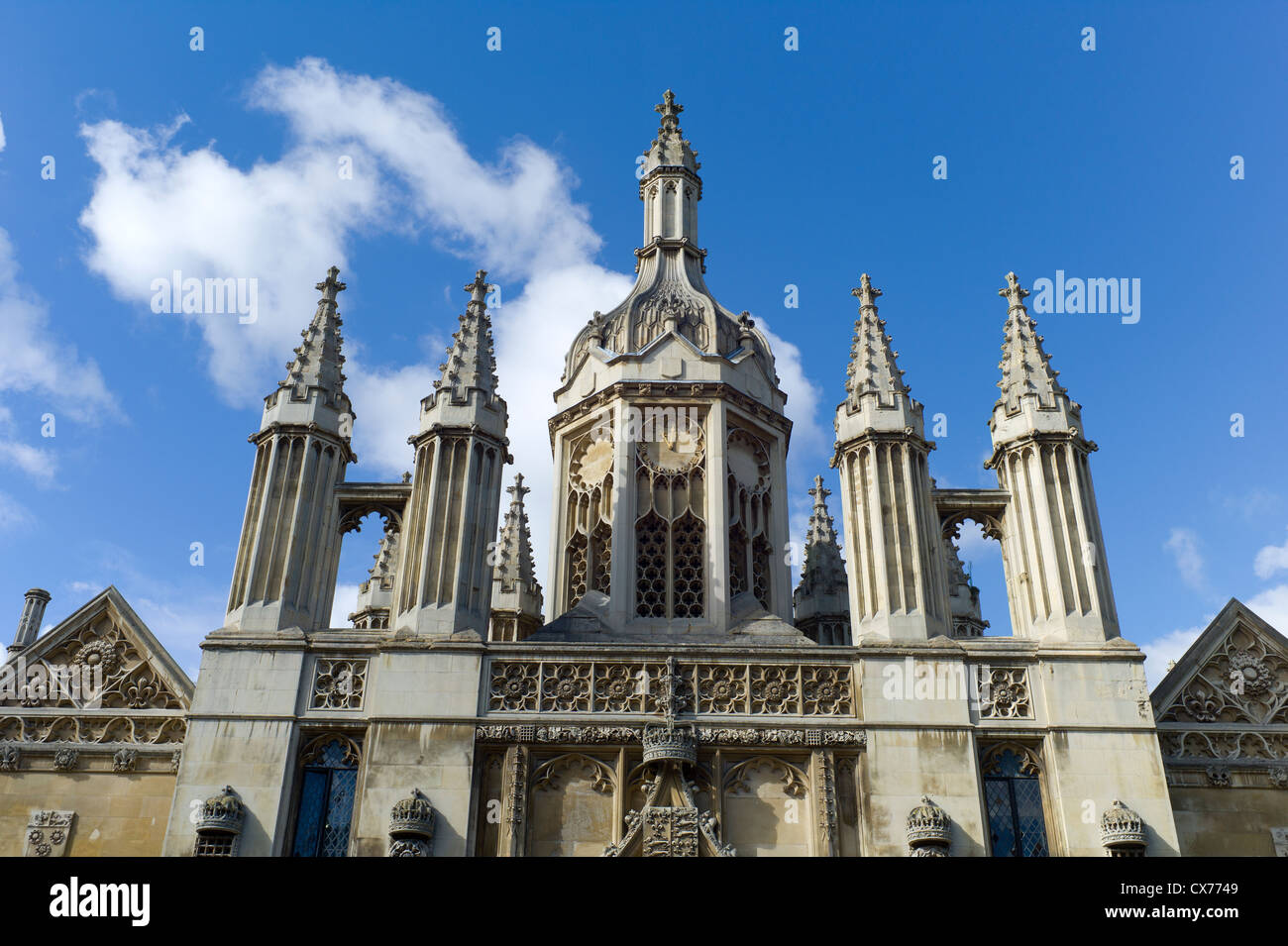 King's College Cambridge University - Stock Image