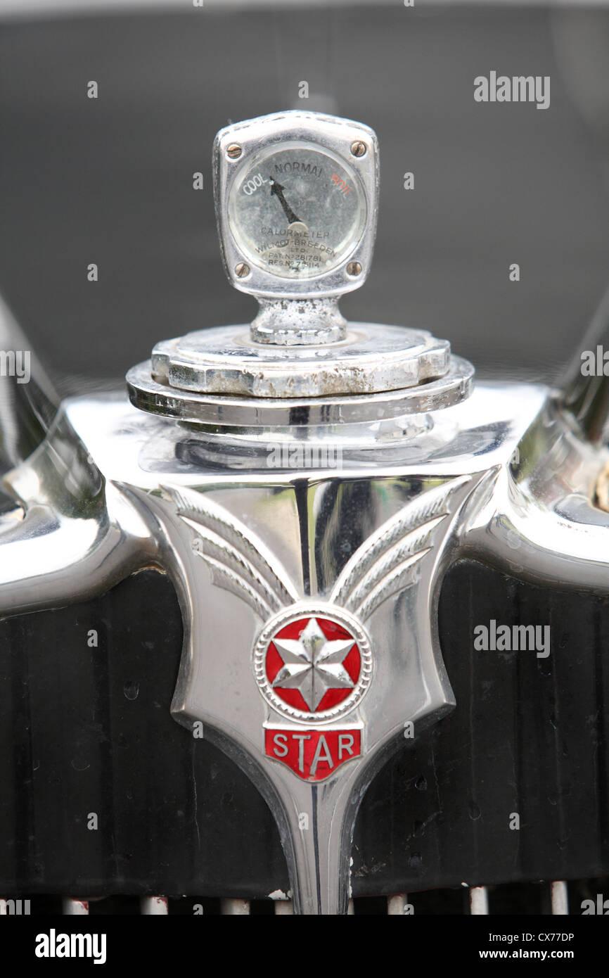 Thirties Motoring Stock Photos Images Alamy Circuit Map For Bromyard Speed Festival Comet Star Car Image