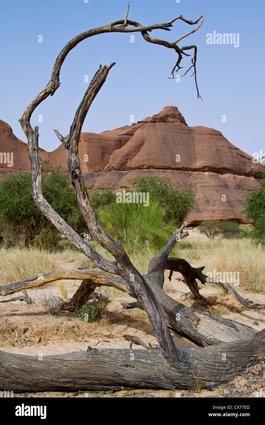 ennedi mountains chad - Stock Image