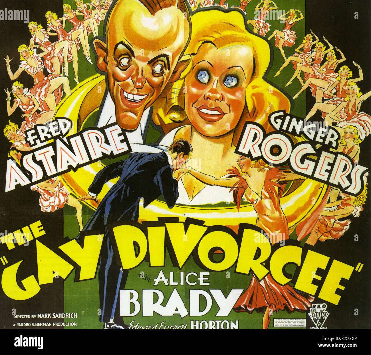 Gay divorce musical 1934