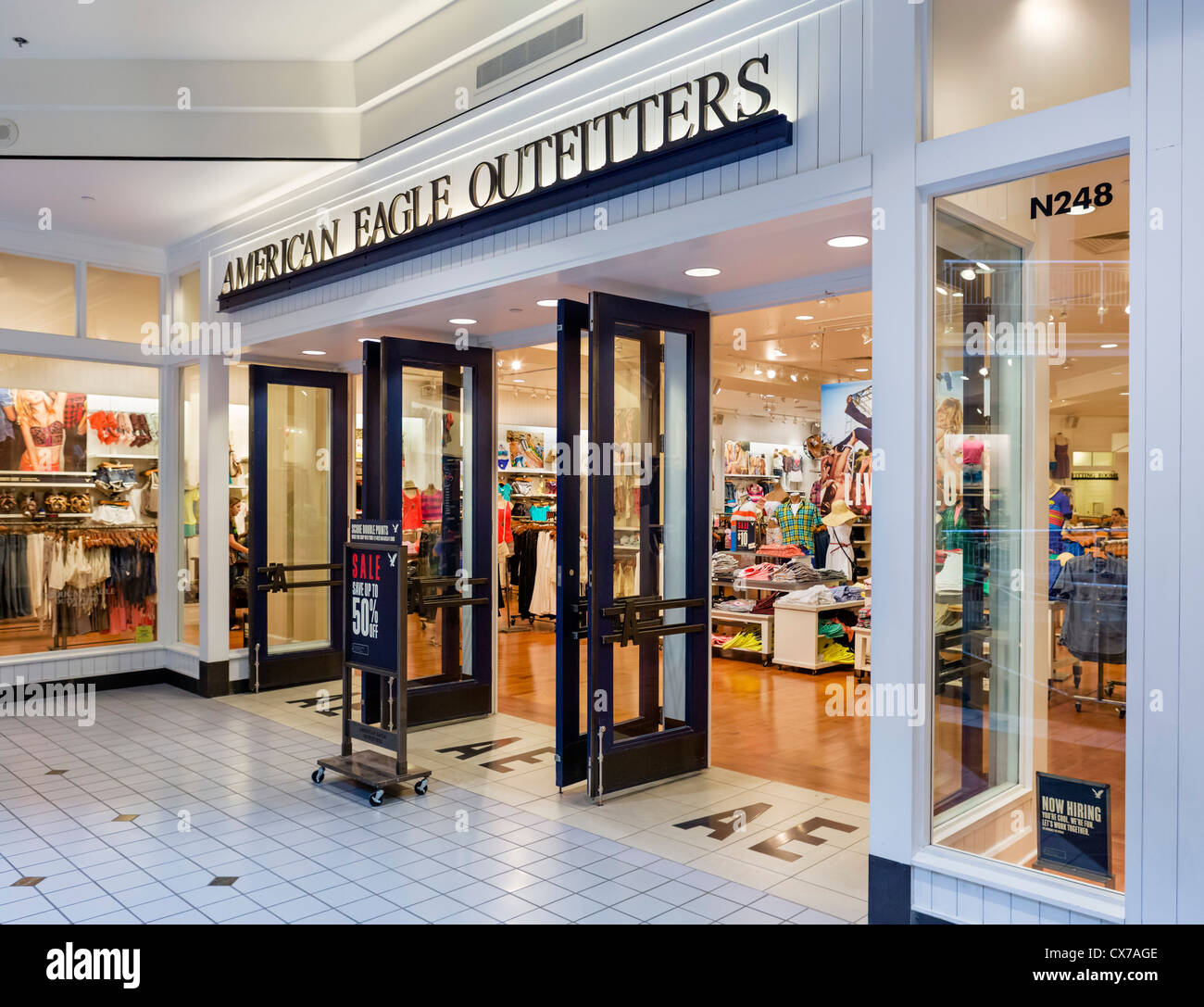 American Eagle Outfitters Store In The Mall Of America Bloomington Minneapolis Minnesota