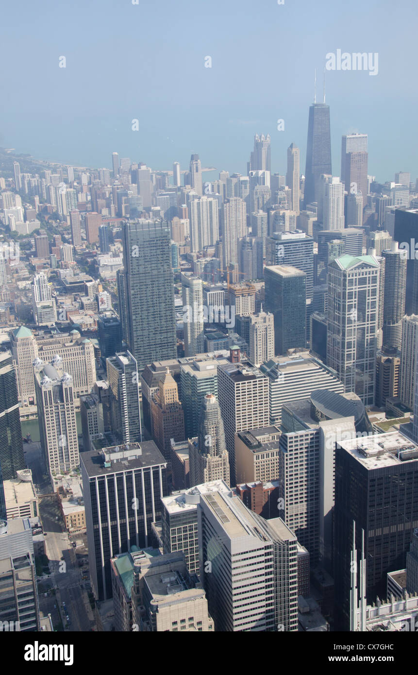 Illinois Chicago Willis Tower Aka Sears Tower Downtown