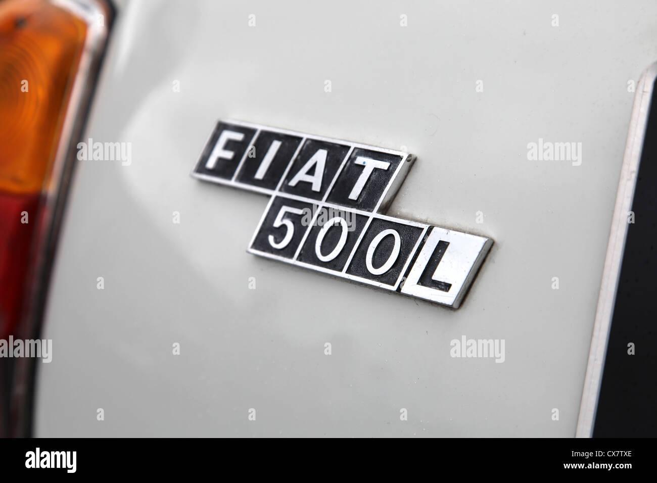 Car Fiat Symbol Mark Stock Photos Car Fiat Symbol Mark Stock