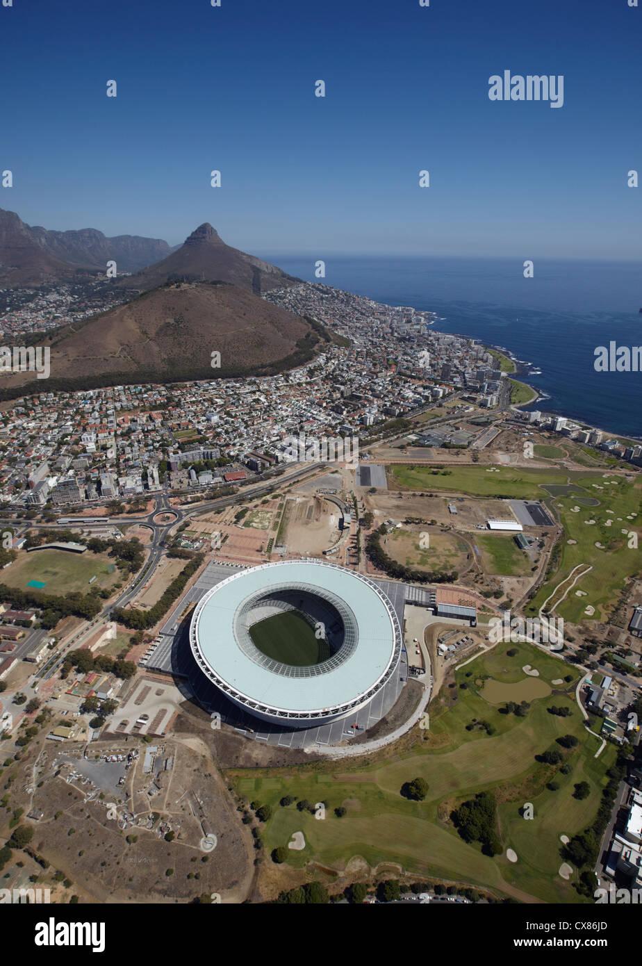 Greenpoint Stadium Aerial - Stock Image