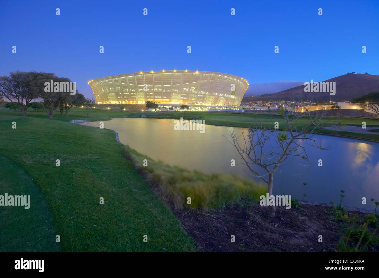 Greenpoint Stadium - Stock Image
