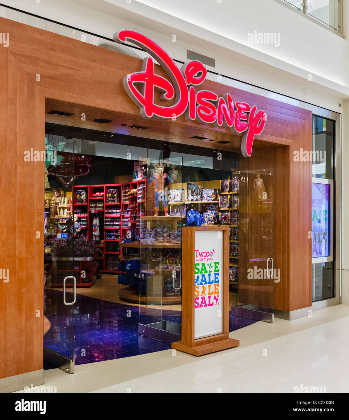 Disney store in the Mall of America, Bloomington ...  Disney store in...