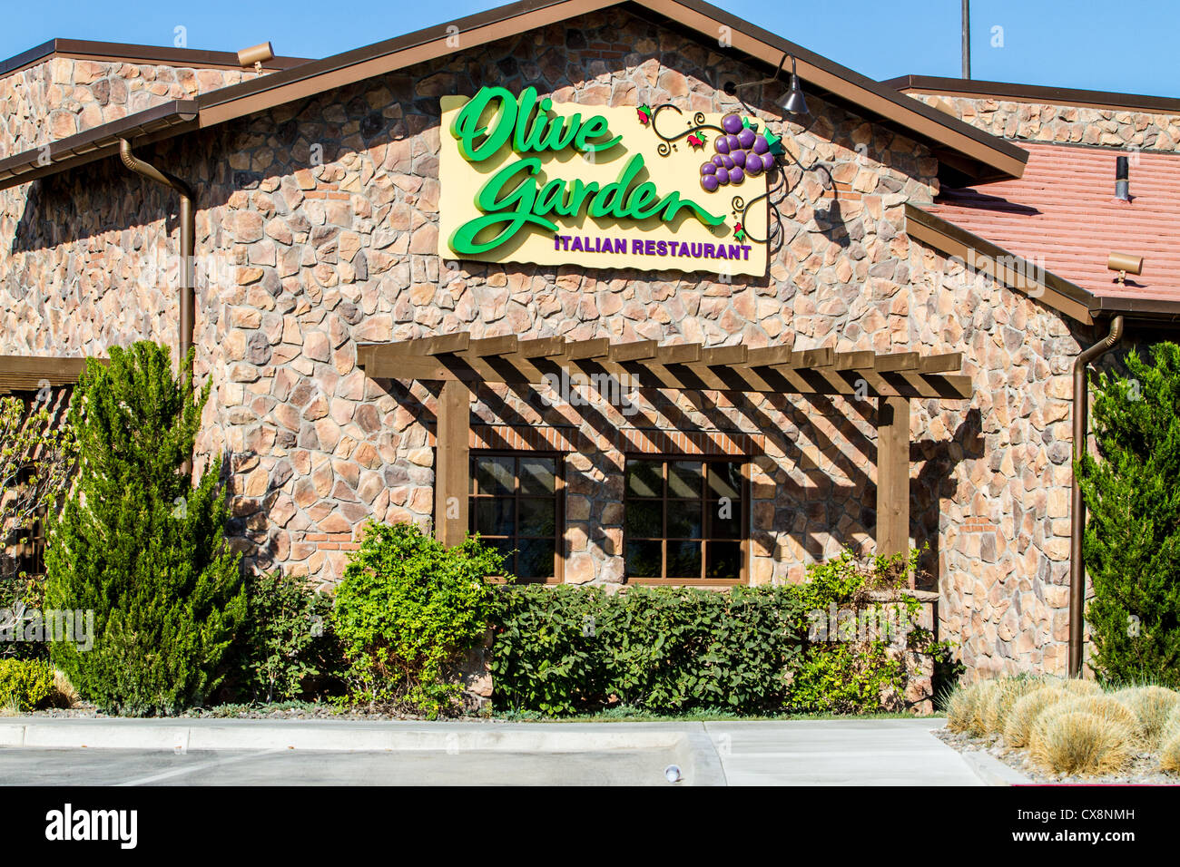 the olive garden restaurant in sparks nevada at the legends shopping center stock image - Olive Garden Reno