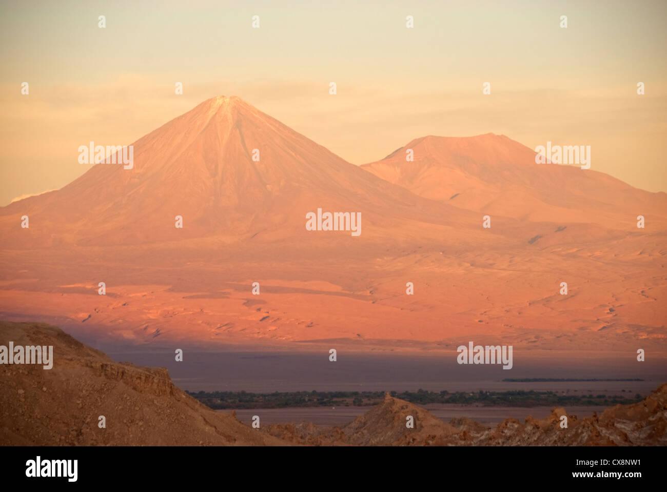Elk198-2117 Chile, San Pedro Atacama, Valle de la Luna, Valley of the Moon - Stock Image