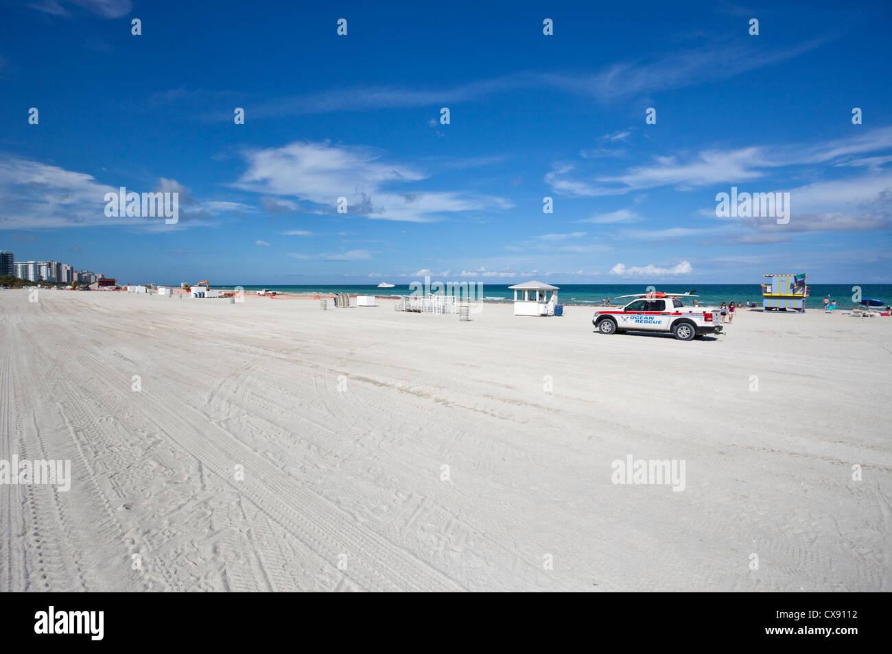 Miami Beach, Florida, USA - Stock Image