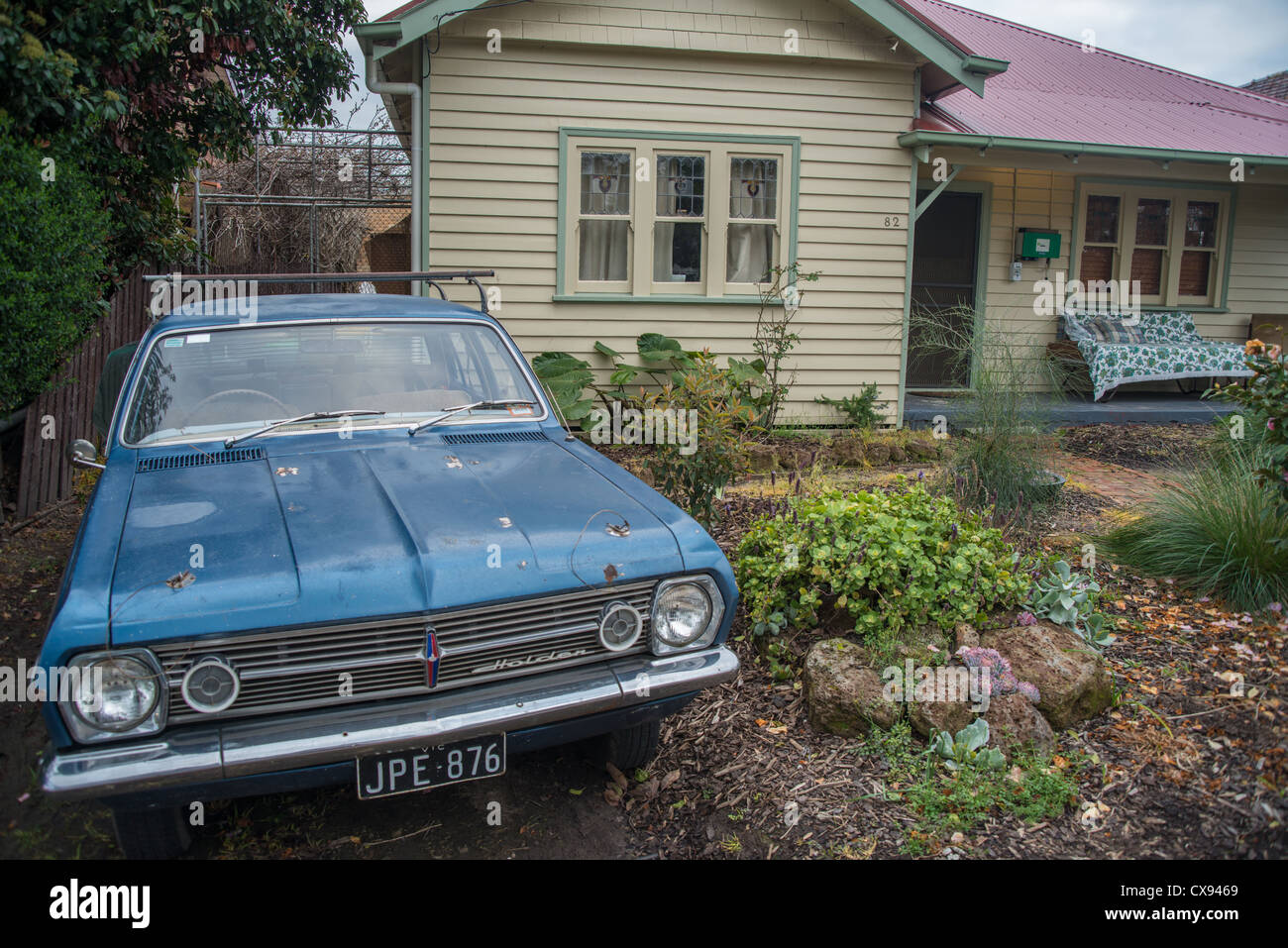 Car Outside A House Stock Photos & Car Outside A House Stock Images ...