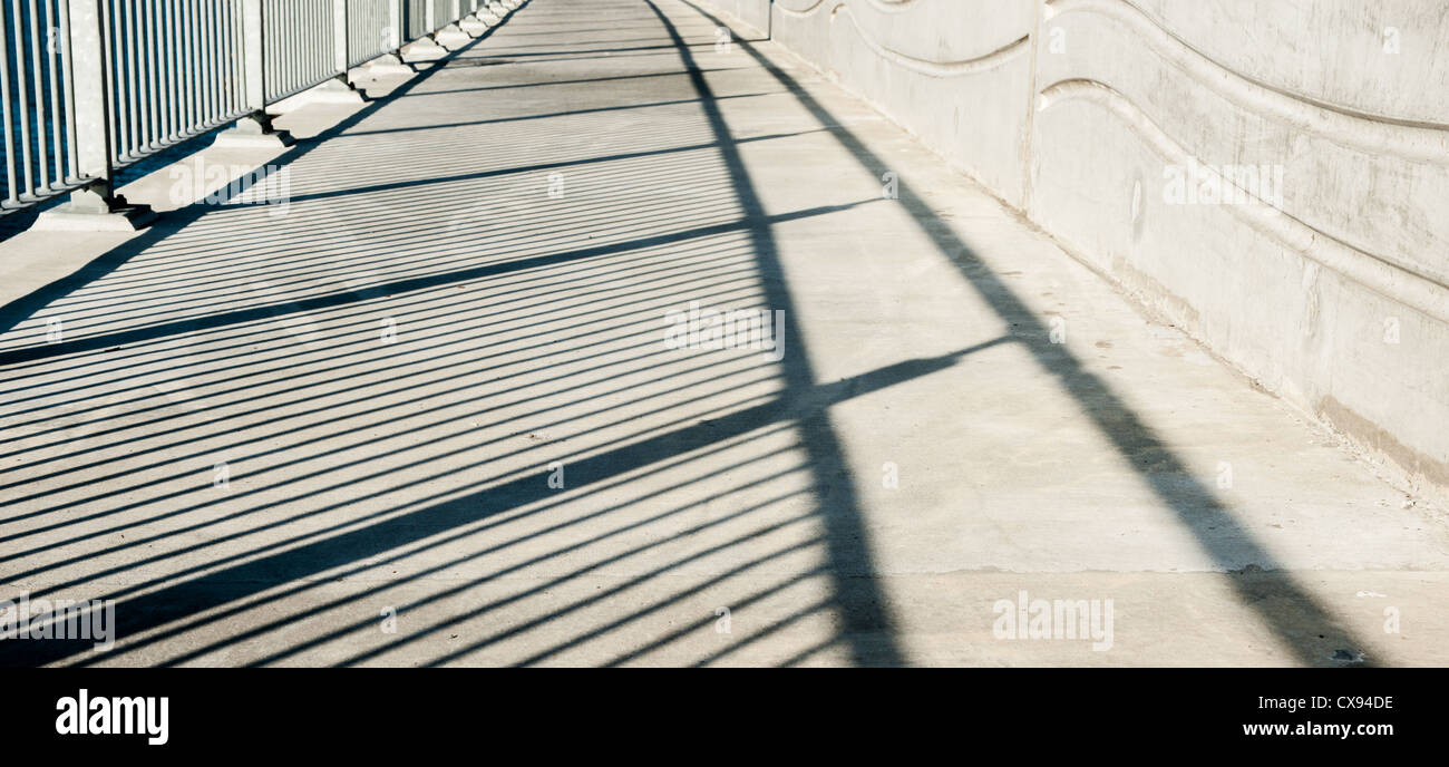 Shadow pattern. - Stock Image
