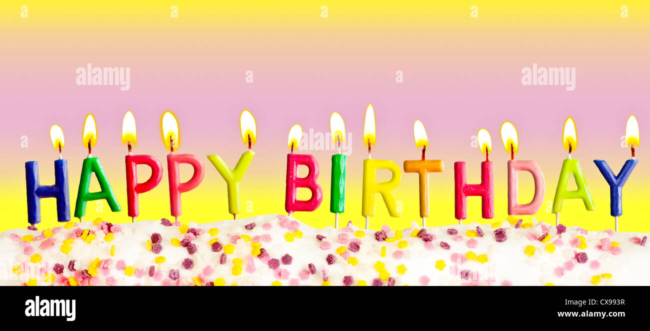 Happy Birthday Stock Photos & Happy Birthday Stock Images - Alamy