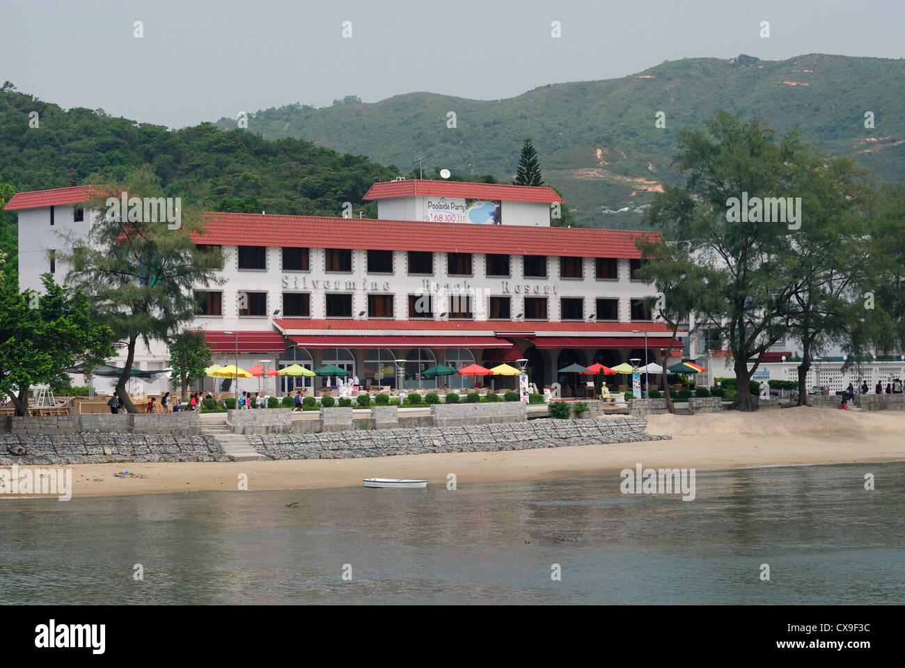 Silvermine Bay Resort, Mui Wo Lantau Island, Hong Kong. - Stock Image