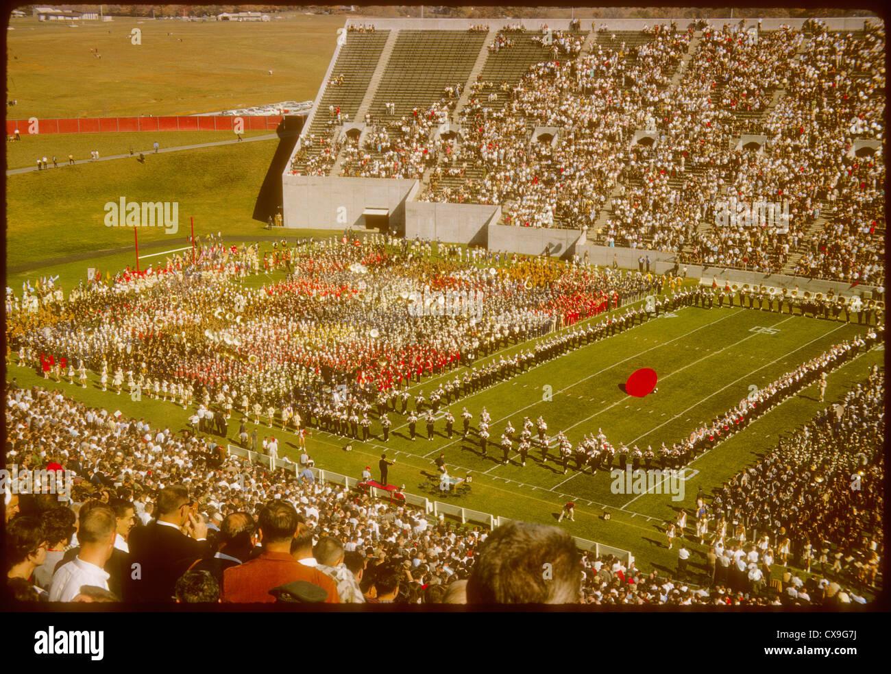 1960s 1965 Memorial Stadium IU Indiana University football ...