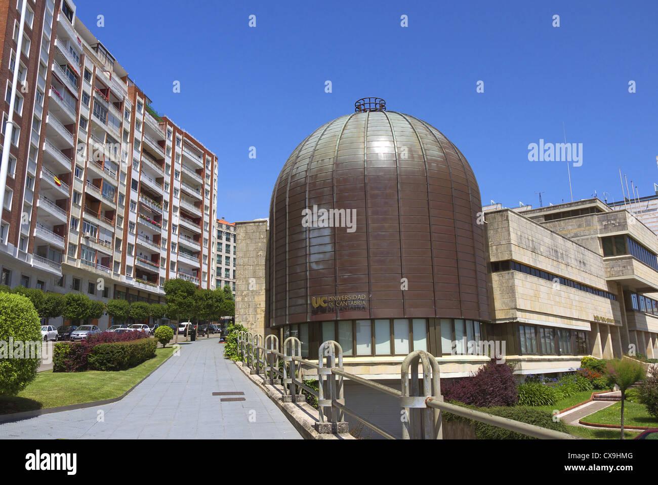 University of Cantabria in Santander, Spain. - Stock Image