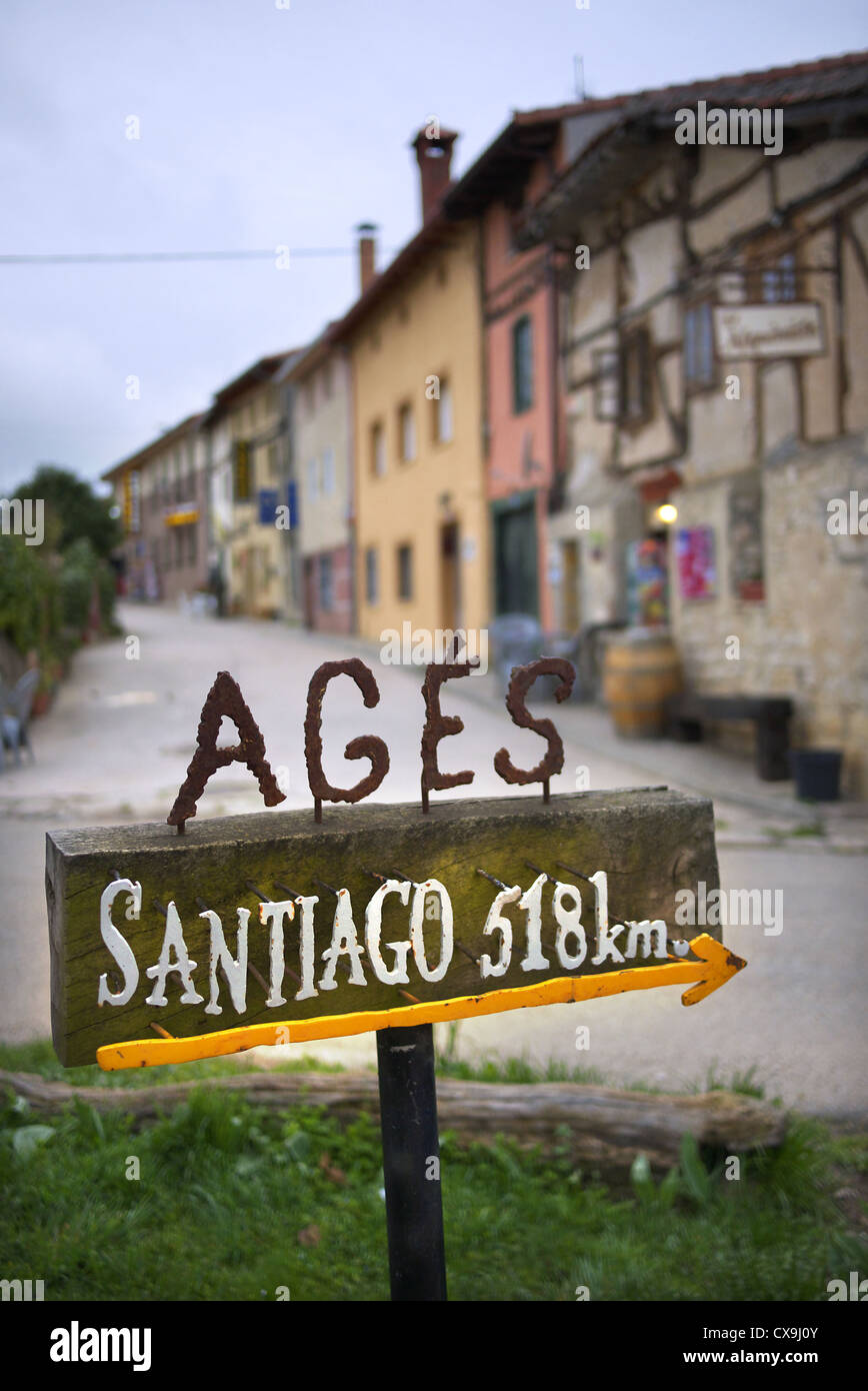 The village of Ages in Spain. - Stock Image