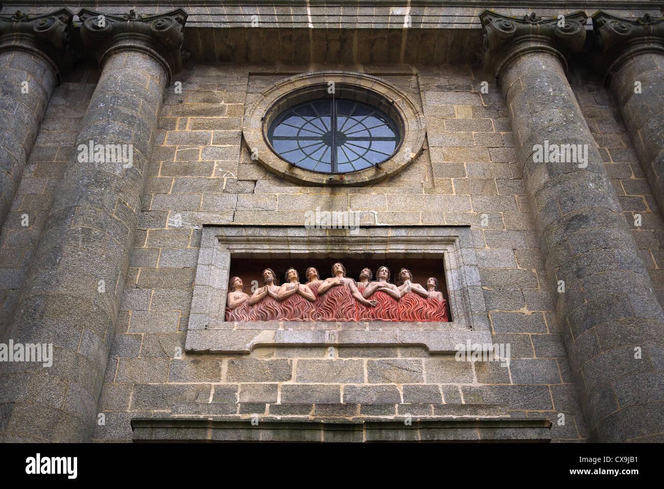 Santiago de Compostela, Spain. - Stock Image