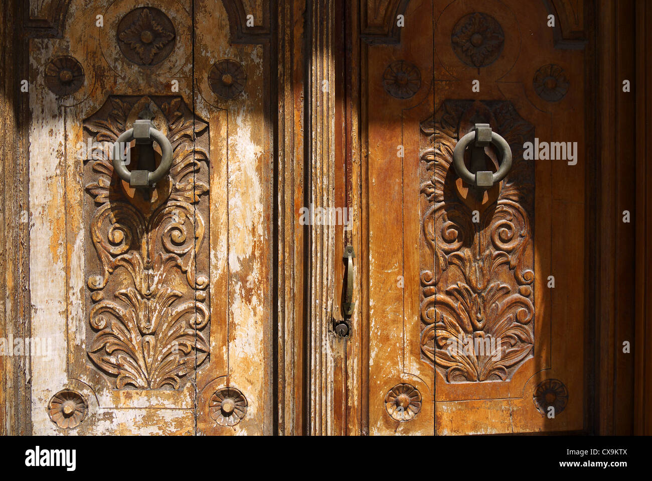Wooden Carved Doors High Resolution Stock Photography And Images Alamy