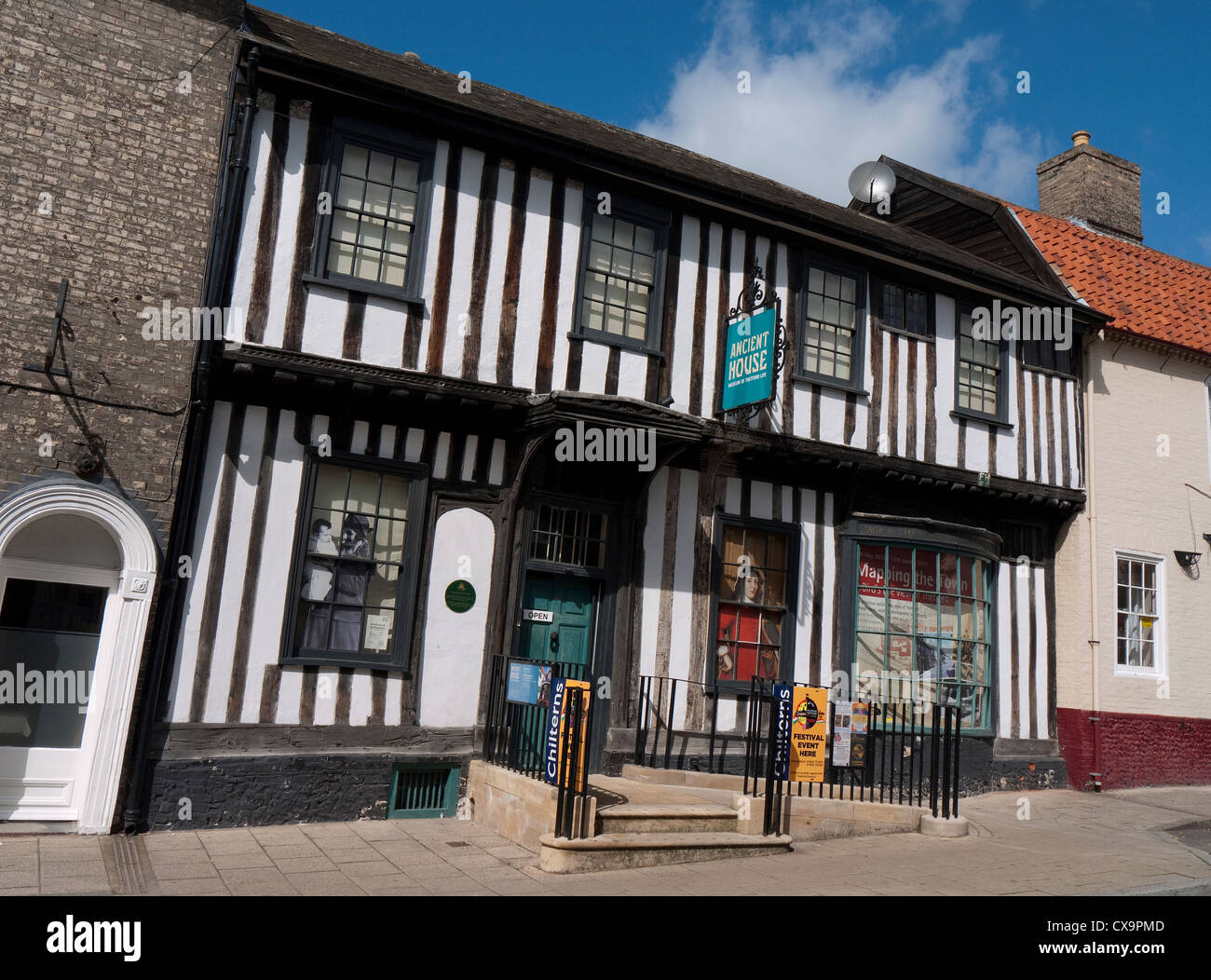 ancient house museum, thetford, norfolk, england - Stock Image