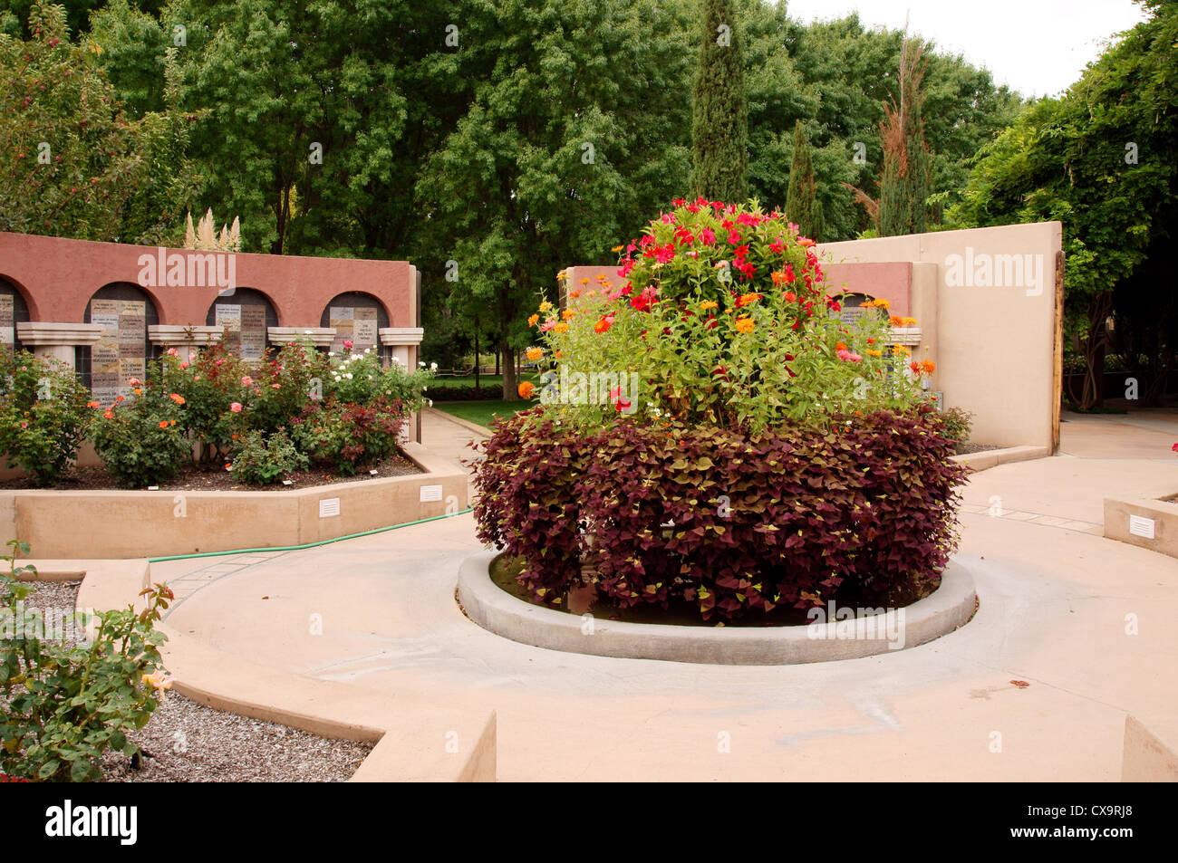 Rio grande botanic garden stock photos rio grande - Botanical gardens albuquerque new mexico ...