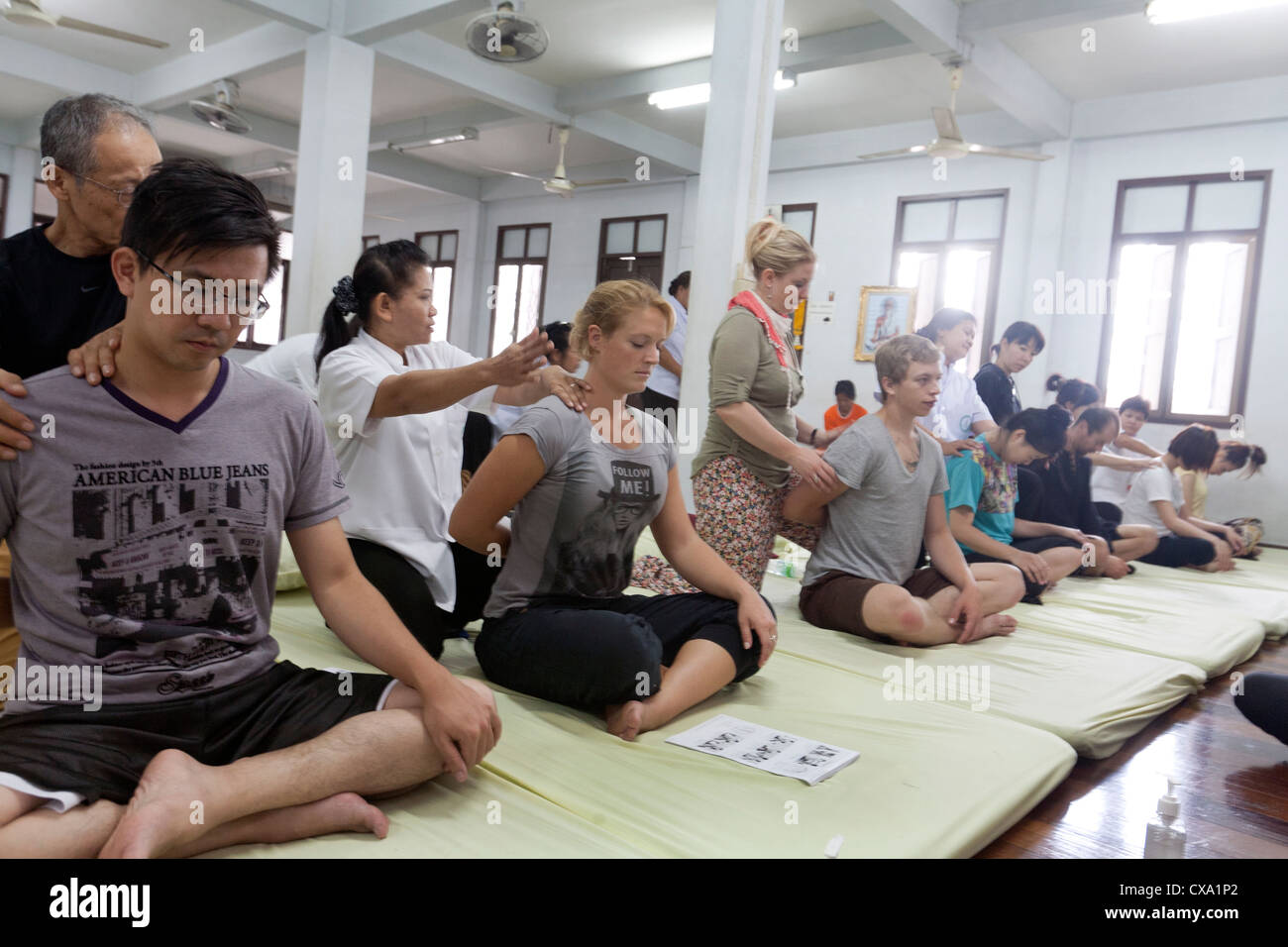 Traditional Thai Massage Course At Wat Po School, Bangkok-4707