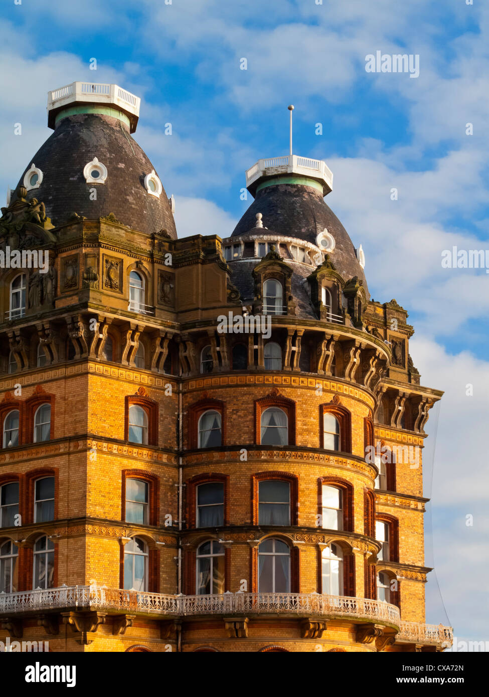 The Grand Hotel in Scarborough North Yorkshire England UK built 1867 designed by Cuthbert Brodrick now owned by - Stock Image