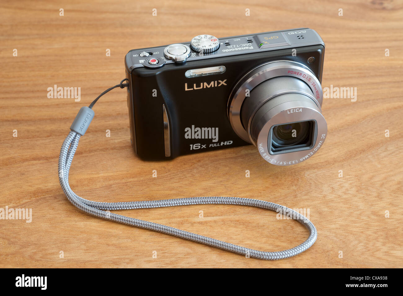 Panasonic Lumix TZ20 digital camera - Stock Image