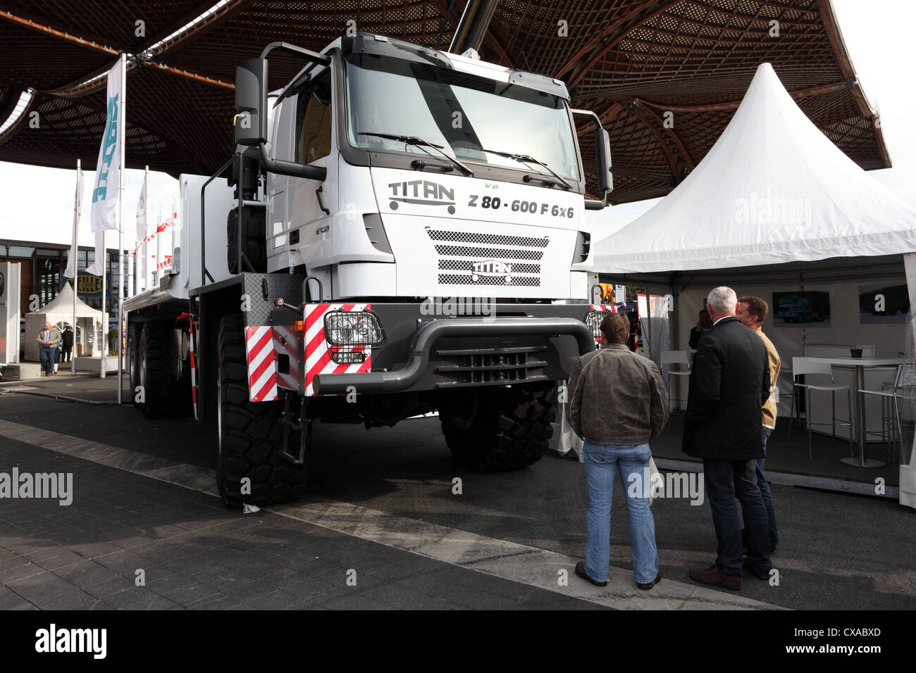 TITAN 8060 Truck at the International Motor Show for Commercial Vehicles - Stock Image