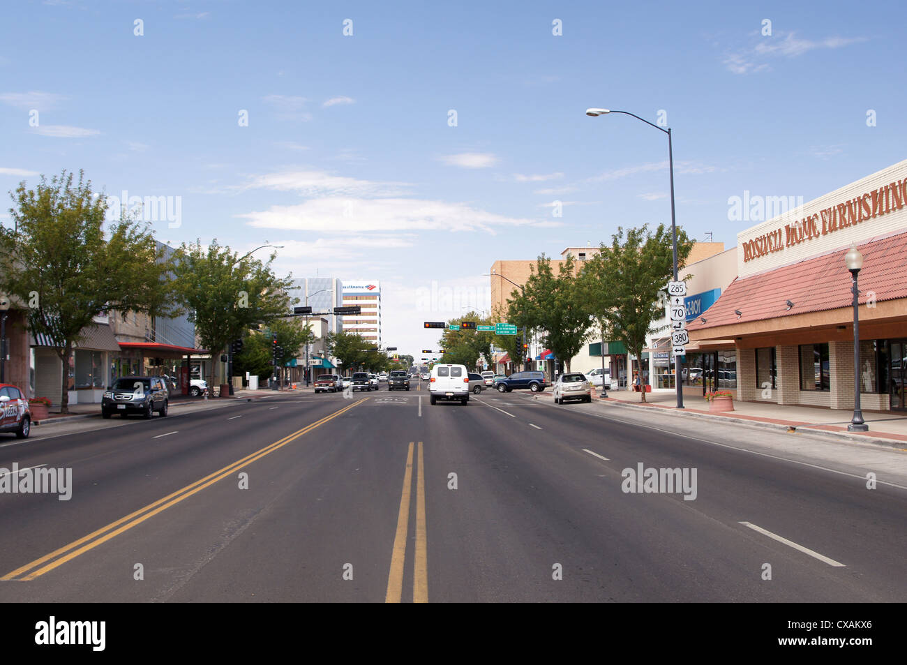 downtown roswell new mexico nm ufo museum unidentified