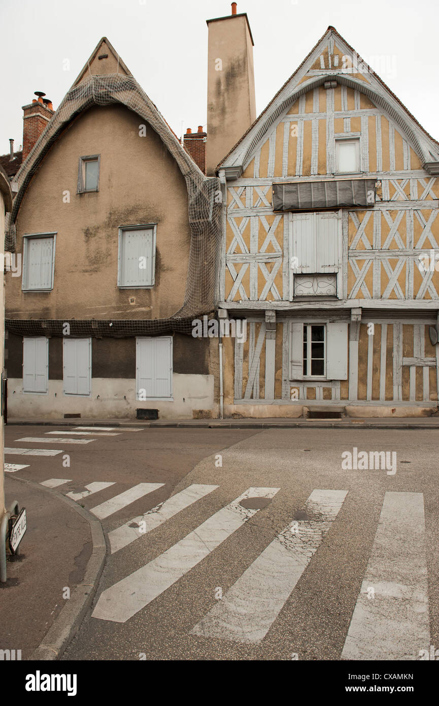 Traditional Wine Growers House In Auxerre France.