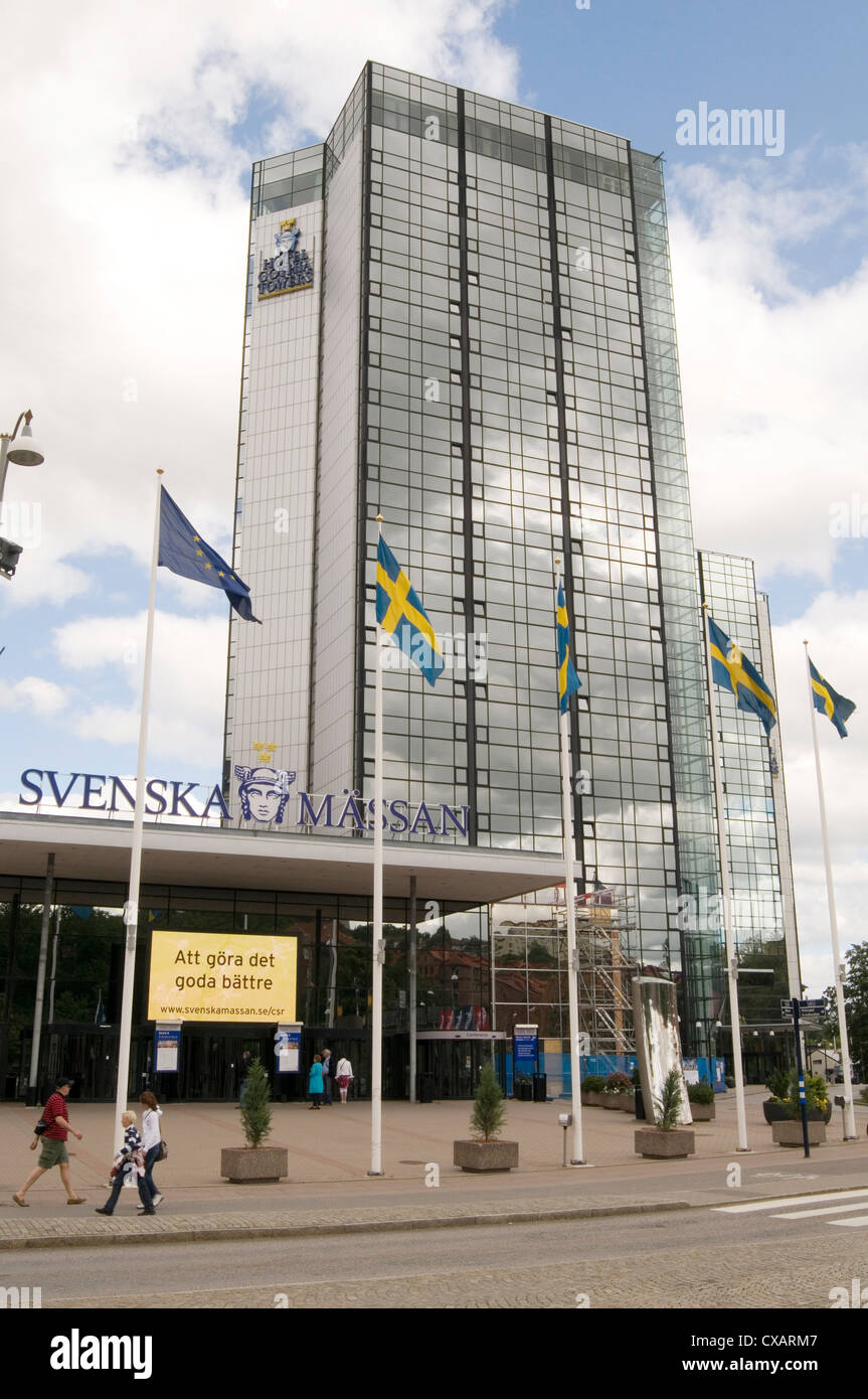 Svenska Mässan the Swedish Exhibition & Congress Centre center Gothenburg goteberg sweden - Stock Image