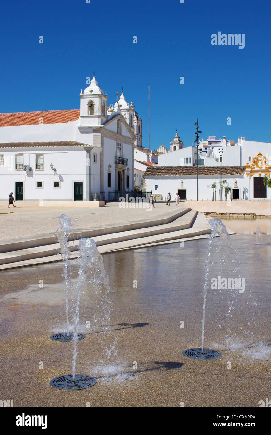 Old Town, Lagos, Algarve, Portugal, Europe - Stock Image