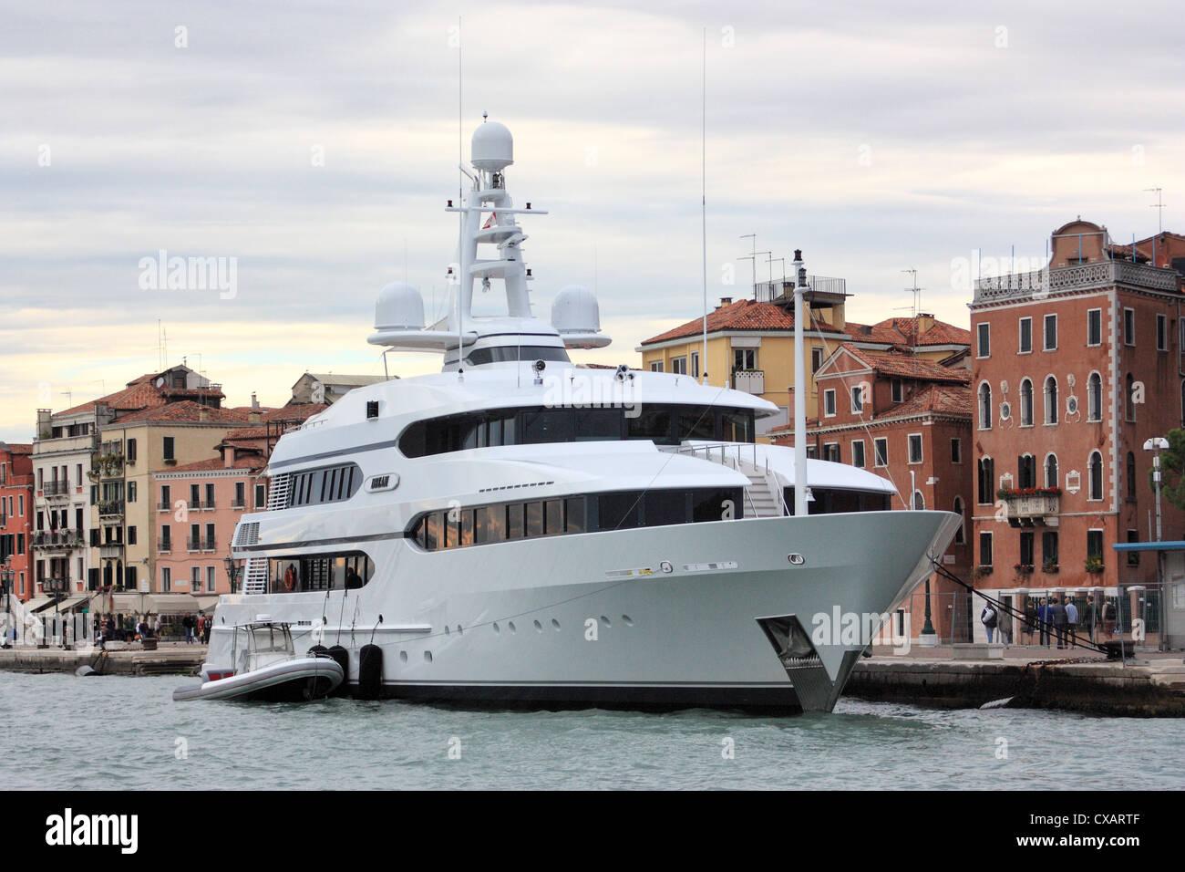Yacht Dream, IMO 1007275 - Stock Image
