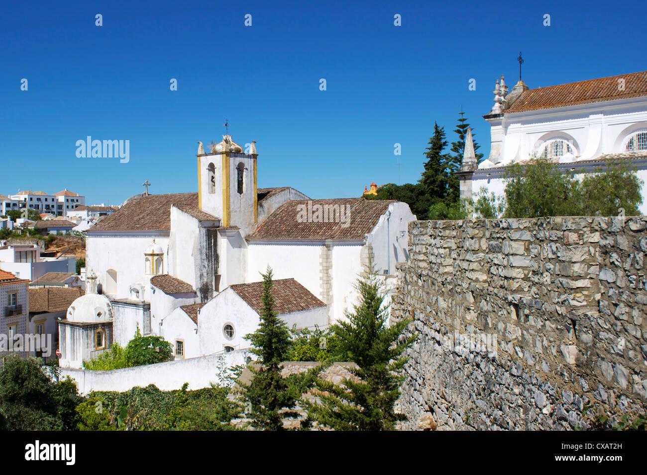 Old Town, Tavira, Algarve, Portugal, Europe - Stock Image