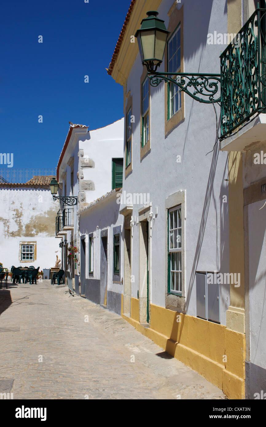 Old Town, Faro, Algarve, Portugal, Europe - Stock Image