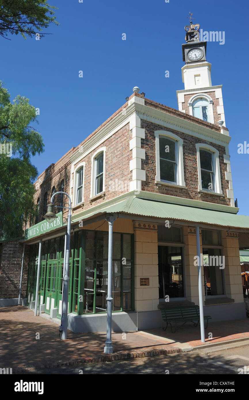 Town house, diamond town of Kimberley, South Africa, Africa - Stock Image
