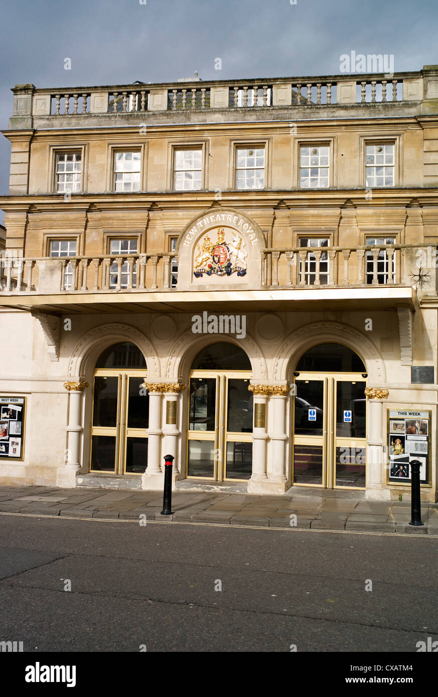 The Theatre Royal, Bath, Avon, England, United Kingdom, Europe - Stock Image