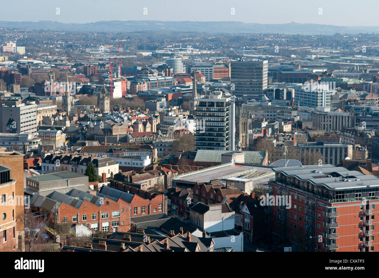 City Centre, Bristol, England, United Kingdom, Europe - Stock Image
