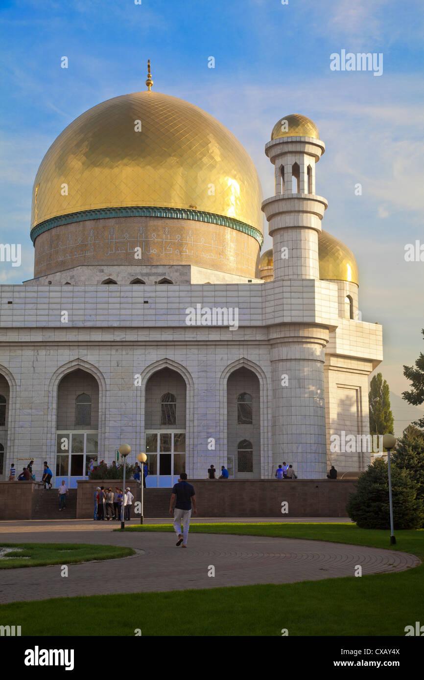 Central Mosque, Almaty, Kazakhstan, Central Asia, Asia - Stock Image